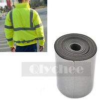 1 Roll Silver Reflective Tape Safety Conspicuity Iron on Trim Fabric 5 Meters