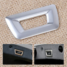 Chrome Trunk Release Unlock Switch Button Cover Trim for BMW X3 X5 3 5 7series