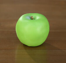 4 x Artificial Green Apples Fake Fruit Faux Food Home Decor Kitchen Party 8cms