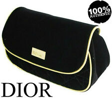 100%AUTHENTIC LtdEdition DIOR COUTURE Poison BLACK&GOLD BEAUTY Clutch VELVET BAG