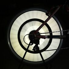 Cool Spoke Reflective Warning Rim Clip Mount Bicycle Reflector Light Strip