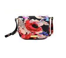 NWT Kate Spade Carsen Laurel Way Printed Crossbody Bag WKRU4141 BLURRY FLORAL