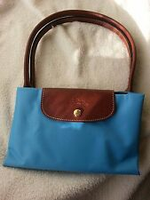 Longchamp LE PLIAGE L handbag-Blue color (RRP was £ 75)