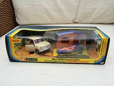 CORGI GIFTSET 38, MINI CAMPING SET, DIRECT FROM TRADE PACK, BEST AVAILABLE MIB