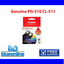 4x Canon Genuine Ink cartridges PG510 CL511 for Canon Printer