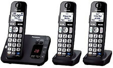 Panasonic KXTGE230 DECT 6.0 Digital 3 Cordless Phone Digital Answering System