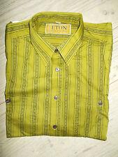 Herren Hemd Oberhemd Eton T-Shirt Gr. M 39/40 Männer Kurzarm Shirt Original NEU