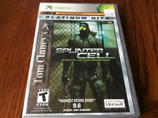 Tom Clancy's Splinter Cell Platinum Hits (Microsoft Xbox, 2003)