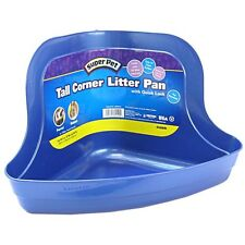 Kaytee Tall Corner Litter Pan with Quick Lock