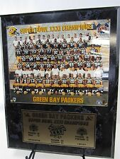 "1966 Green Bay Packers Super Bowl XXXI Champions Photo Wall Plaque 12"" x 15"" ltd"