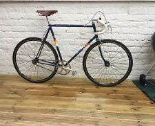 Fixed Gear Peugeot Track Bike - Classic Vintage + Brooks