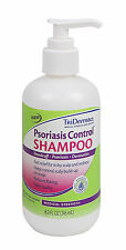 TriDerma Psoriasis Control Shampoo for Itchy Scalp   Dandruff  8.3 oz