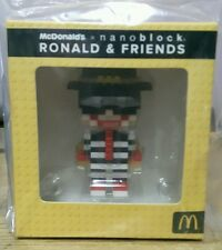 Malaysia Mcdonald Nanoblock Ronald & Friends with box 2016 HAMBURGLAR