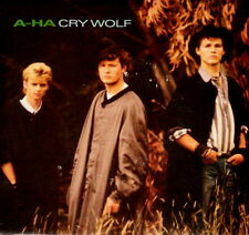 "A-HA ""CRY WOLF/Maybe Maybe"" WARNER BROTHERS 28500 (1986) PICTURE SLEEVE ONLY"