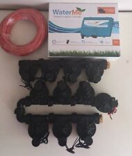 """WaterMe-WiFi Irrigation Controller+10Zone Solenoids Combo+Qty1x1""""Master Solenoid"""