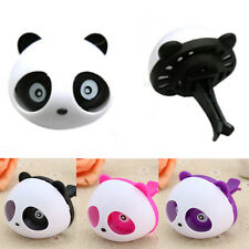 Lovly Panda Car Air Freshener Clip Perfume Diffuser Chest Home Room 3 Color