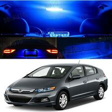 Fit 13-Up Honda insight  Interior Xenon Blue LED Light Bulb Package Piece Kit