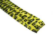 "CLIP-IN 12"" HAIR EXTENSION YELLOW LEOPARD EMO SCENE"