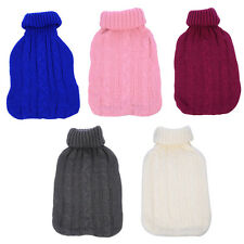 2000ml Hot Water Bag Bottle Large Knitted Cover Case Heat Warm Keeping Coldproof