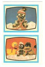 Abziehbild Schiebebild DDR-Kinderfernsehen  Schnatterinchen, Pittiplatsch, Moppi