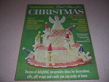 "1971 WOMANS DAY ""BEST IDEAS for CHRISTMAS MAGAZINE"