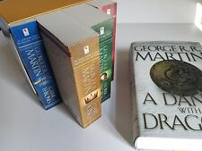 A Dance with Dragons by George R. R. Martin (HC) +1-4 complete Game of Thrones