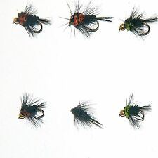 18 Std and Gold Head Montana Stone fly Nymphs trout Fly fishing Flies