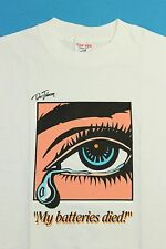 NOS ~ Vintage 90s DOC JOHNSON Pop Art Vibrator Sex Toy T Shirt Extra Large XL