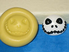 Jack Nighmare Before Christmas Silicone Push Mold A448 For Chocolate Resin Clay