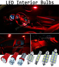NEWEST Red Interior LED Lights Package Bulb SMD Lamp For 2013-2015 Honda Civic