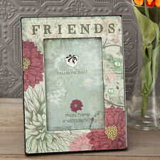 Friendship Friends Floral Picture Frame Home Decoration Gift Idea SF