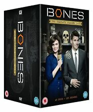 The Complete Bones DVD Collection: Series 1, 2, 3, 4, 5, 6, 7, 8  Gag Reel New