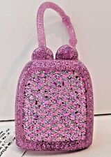 BATH & BODY WORKS PURPLE DIAMOND PATTERN POCKETBAC SANITIZER HOLDER SLEEVE
