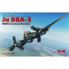 NEW ICM 1/48 JU 88A-5 WWII German Bomber ICM48232
