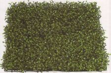 "21"" ARTIFICIAL LONG LEAF IN OUTDOOR UV BOXWOOD MAT GRASS PATIO HEDGE WALL FENCE"