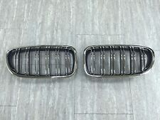 Front Kidney Grilles Chrome/Chrome/Black M5 Look For BMW F10/F11/F18 5-Series