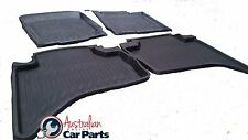 Mitsubishi Triton MN ML Rubber Mats 2007-2015 High side Dual cab New Genuine