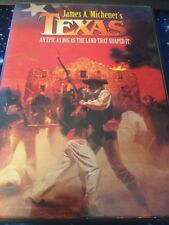 TEXAS JAMES MICHENER PATRICK DUFFY MARIA CONCHITA ALONSO WESTERN DVD