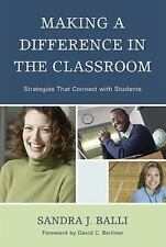 Making a Difference in the Classroom: Practical Strategies for Applica-ExLibrary