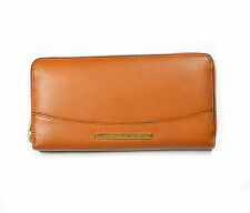Lauren Ralph Lauren Thurlow Zip Around Leather Wallet Tan