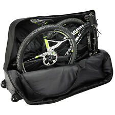 B&W Bicycle Bag Bike Travel Luggage Case Transport Bag incl. four Wheels 96200