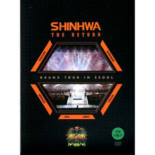 SHINHWA - GRAND TOUR IN SEOUL THE RETURN 3DVD KOREA EDITION SEALED SHIN HYE SUNG