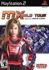 MX World Tour: Featuring Jamie Little for PS2 L@@K New