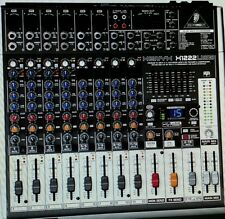 BEHRINGER XENYX X1222USB Mixer with Effects Brand New!