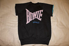 VINTAGE DAVID BOWIE CONCERT T SHIRT, SWEAT SHIRT, 1983 SERIOUS MOONLIGHT - RARE!