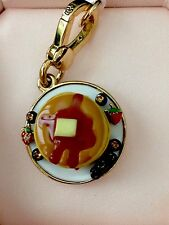 Authentic Juicy Couture Pancakes Charm, YJRUSC39, Rare, NIB
