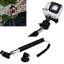 GoPro Camera Monopod Handheld Extendable Selfie Stick Telescopic HERO 4/3+/3/2/1
