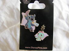 Disney Trading Pin 79395: Stitch & Scrump on Pillows