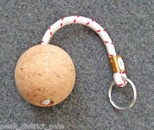 Floating Keyring - Cork Ball with cord and ring         4453