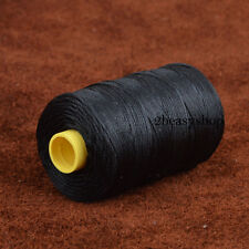 Black 100m/109yrd 1mm Thick Leather Sewing Waxed Thread Craft Shoes Repair NEW